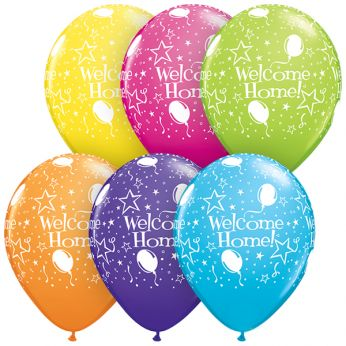 25 Stuks 11 Inch Welcome Home Qualatex Ballon