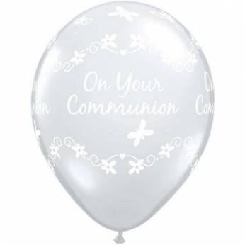 Communion Butterflies clear  Q11 per 25 Stuks