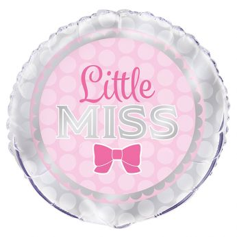Helium Ballon Little Miss