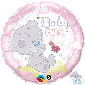 Folieballon Baby Girl me to you