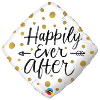 Folieballon Happily Ever After