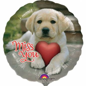 Folieballon met de Tekst: Miss You