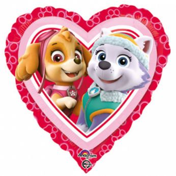 Folieballon Paw Patrol Love