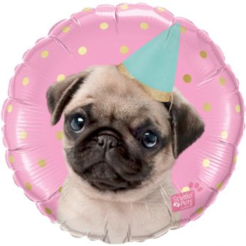 Folieballon Party Pug