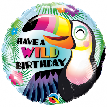 Helium Ballon Wild Birthday