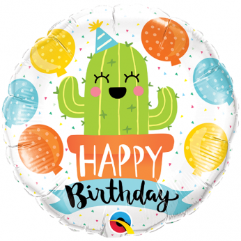 Helium Ballon Birthday Party Cactus