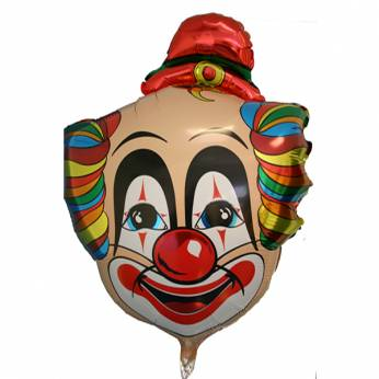 Folieballon Clown
