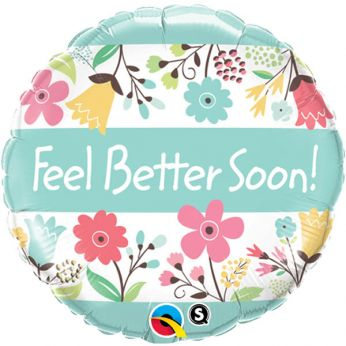 Folieballon Feel Better Soon