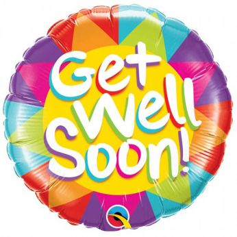 Folieballon Get Well Soon!