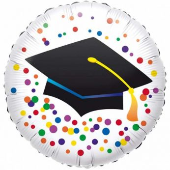 Folieballon Graduation Dots