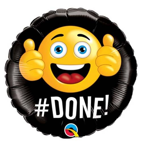 Folieballon Emoticon #DONE!