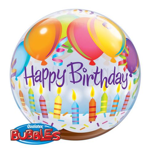 Bubble Ballon Happy Birthday