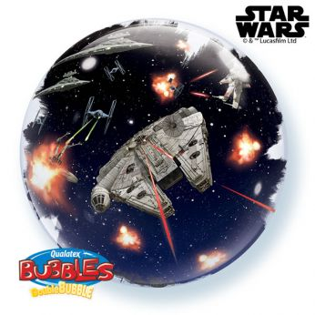 Dubbel Bubble ballon Star Wars