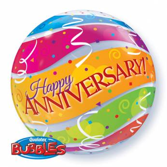 Bubble ballon Happy Anniversary