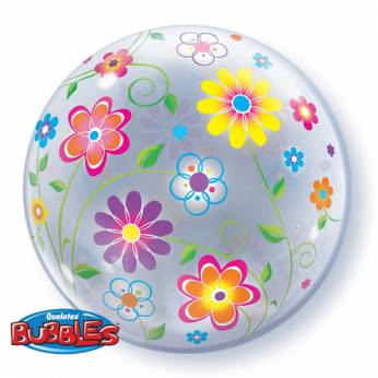 Bubble Ballon Bloemen