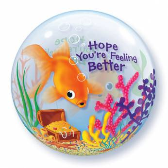 Bubble Ballon Hope You're Feeling Better