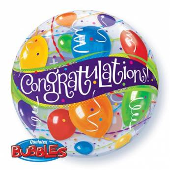 Bubbleballon Congratulations