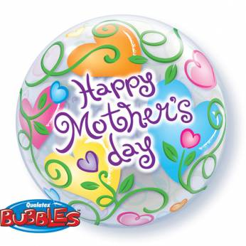 Bubble Ballon Moederdag Happy Mother's Day