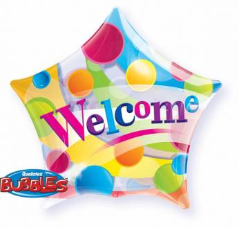 Bubbe Ballon Ster Welcome