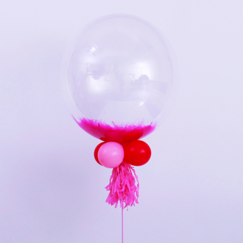 Special Bubble Balloon Pink