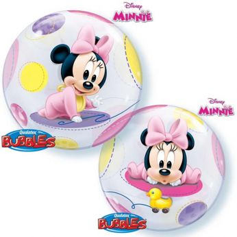 Bubble Ballon Minnie Mouse