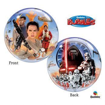 Bubble ballon Star Wars Awakens