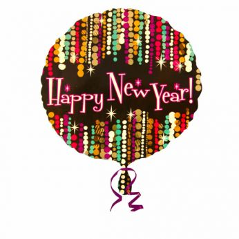 Folieballon Happy new Year