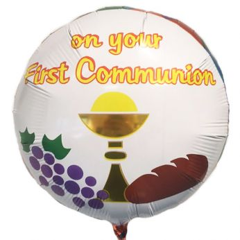 Folieballon On My First Communion
