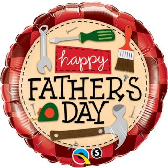 Folieballon Vaderdag Happy Father's Day