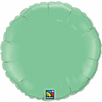 Folieballon Rond Winter Groen 18 inch