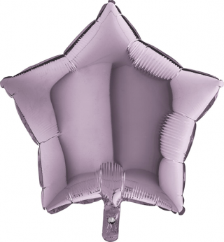 Heliumballon ster - 36INCH (90cm) Lilac
