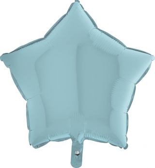 Heliumballon ster - 36INCH (90cm) Pastel Blue