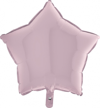 Heliumballon ster - 36INCH (90cm) Pastel Pink
