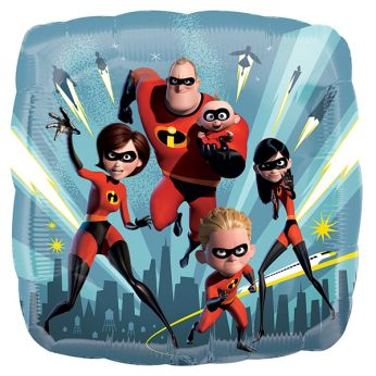 Folieballon The Incredibles