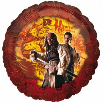 Folieballon Pirates of the Caribbean