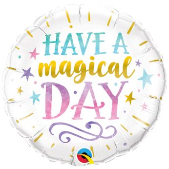 Folieballon Have A Magical Day