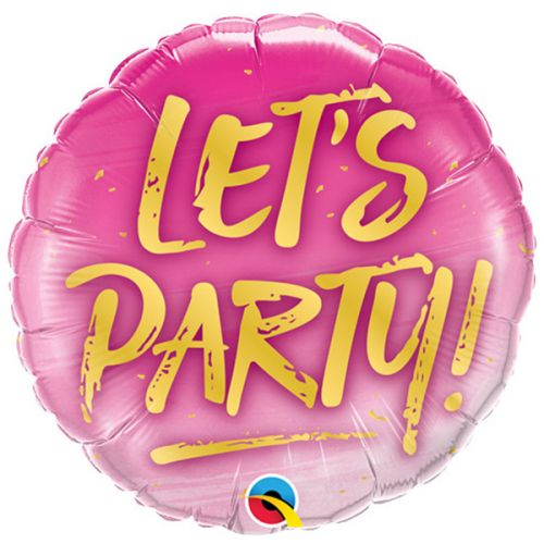Folieballon Let's Party!