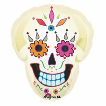 Folieballon Skull