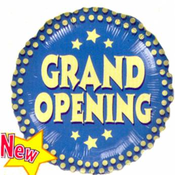Folieballon Grand Opening