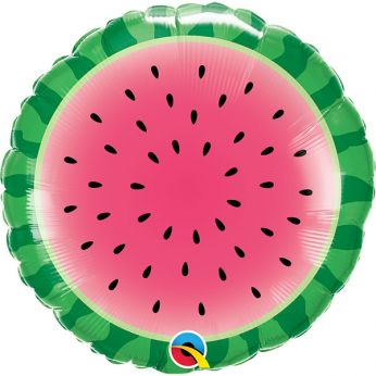 Heliumballon sliced watermelon