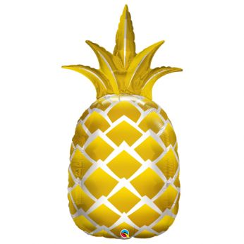Folieballon Golden Pineapple