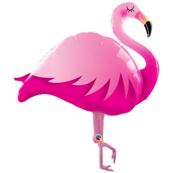 Folieballon Big Pink Flamingo