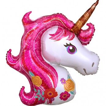Helium Ballon Shape - magical unicorn