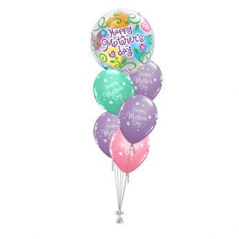 Tros Folie/Latex High-Float Ballonnen Moederdag Happy Mother's Day