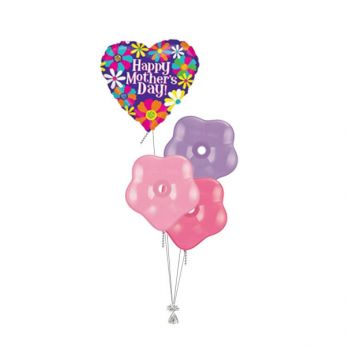 Tros Folie/Latex Hi-Float Ballonnen Moederdag Happy Mother's Day