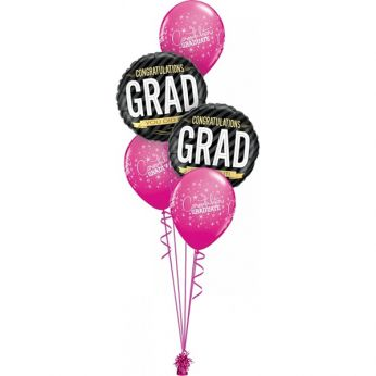 Tros Folie/Latex Hi-Float Ballonnen Congratulations Grad