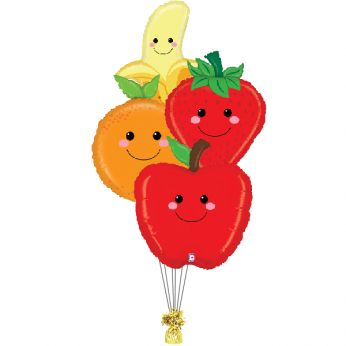 Ballonboeket fruitmand