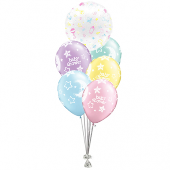 Ballonboeket Babyshower Gender Neutraal