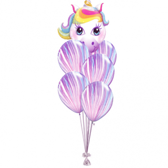 Ballonboeket Happy Unicorn