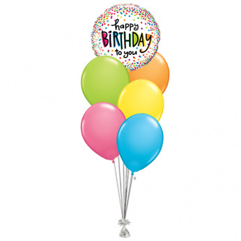 AANBIEDING | Ballonboeket Happy Birthday To You